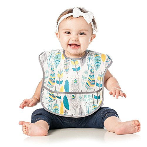 Bumkins Baby Bib, Waterproof SuperBib 3 Pack, N16 (Feather/Quill/Arrow) (6-24 Months) by Bumkins (Image #2)