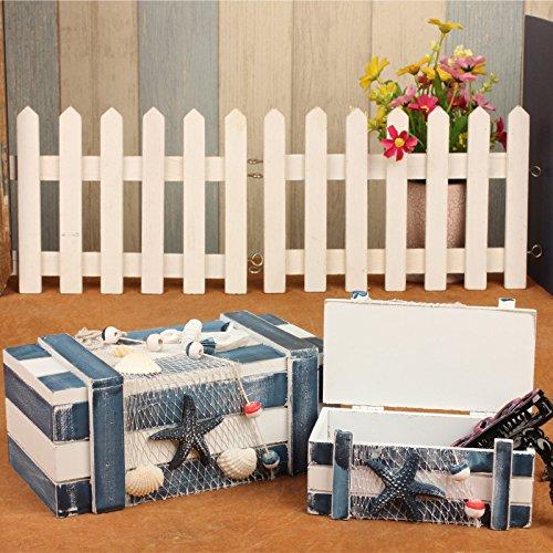 WWJ/ Eastern Mediterranean storage box. box with wooden Ocean series. creative European style wooden box , big