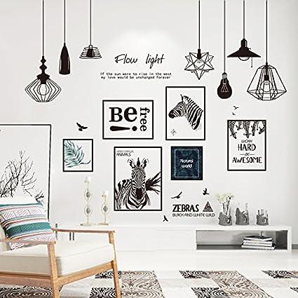 Hccy Mural Posters Affiches Style Scandinave Minimaliste Salon Chambre à Coucher Mur à L Arrière Plan Papier Auto Adhésif Décoratif Mural 180 155cm