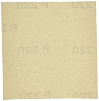 PORTER-CABLE 762802215 1/4 Sheet 220 Grit Adhesive-Backed Sanding Sheets (15-Pack)