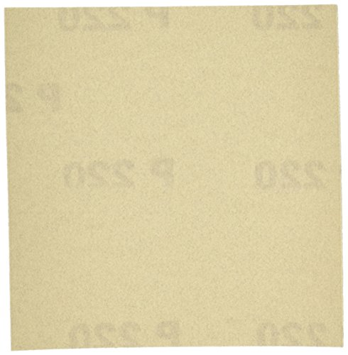 PORTER-CABLE 762802215 1/4 Sheet 220 Grit Adhesive-Backed Sanding Sheets (15-Pack) (Cable Porter Wood Sander)