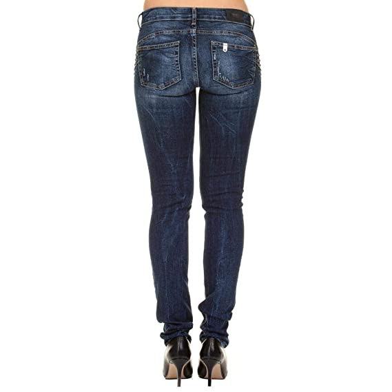 LIU-JO-Jeans Bottom Up Magnetic U68016D4270: Amazon.es: Ropa ...