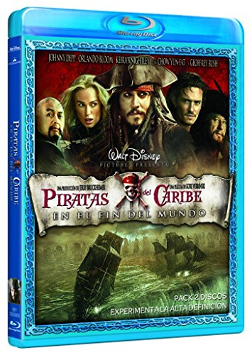 Piratas Del Caribe En El Fin Del Mundo [Blu-ray]: Amazon.es: J ...