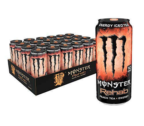 Monster Rehab Peach Energy Ounce product image