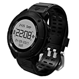 Adventurer GPS Smart Sports Watch,UWEAR 100% Waterproof Hiking Watch gps for Men,Over 10 Sports Modes,with Heart Rate Monitor / Return Cruise / SOS / Compass / Barometer Altimeter, Android and iOS