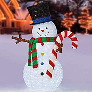 """The Holiday 84"""" Pop-Up Snowman"""