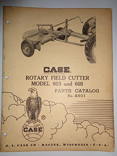 Mower Parts Catalog Manual - Case 603 605 Rotary Field Cutter Mower Parts Catalog Book Manual 2/59 original