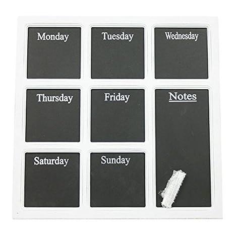 MM Exclusiv Pizarra Planificador Semanal Cuaderno y Pizarra ...