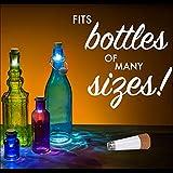Cork Shaped Rechargeable USB LED Night Light Empty Wine Bottle Lamp