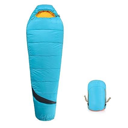 JIBO Bolsa De Dormir Al Aire Libre Portátil Viaje De Campamento para Adultos Otoño E Invierno