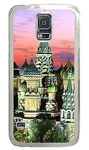 Samsung Galaxy S5 Kremlin Building PC Custom Samsung Galaxy S5 Case Cover Transparent