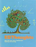 img - for First Edition of EDthoughts - What We Know About Mathematics Teaching & Learning [John Sutton - Alice Krueger] book / textbook / text book
