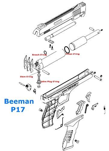 Beeman P17 O'ring Kit