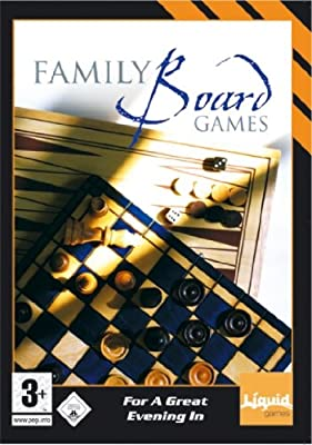 Family Board Games (PC-CD) Including Chess, Checkers, Backgammon, Quatro, Reversi & Enigma