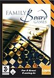 Family Board Games (PC-CD) Including Chess, Checkers, Backgammon, Quatro, Reversi & Enigma