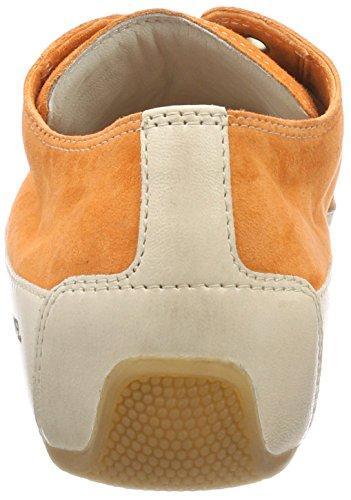 Candice Cooper Damen Camoscio Sneaker Orange (Arancio)