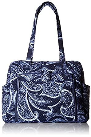 Amazon Com Vera Bradley Large Stroll Around Baby Bag