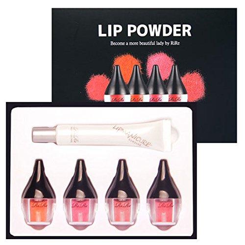 [リール]RiRe LIP POWDER Set+Removerパウダーセット+リムーバー(4+1=5)化粧品made in korea (海外直送品)