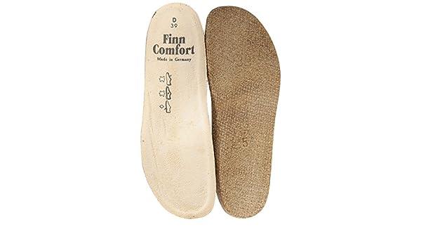 Finn Comfort Cómodo de plantilla Soft Mujer 8545, color Beige, talla 43 EU
