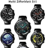 Smartwatch, Reloj Inteligente Llamada LTE Dual Cámara 5MP + 5MP Pantalla de Alta Resolución Videollamada GPS Reproductor MP3, Pulsómetro Podómetro ...
