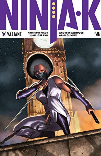 Amazon.com: Ninja-K #4 eBook: Christos N. Gage, Cafu, Juan ...