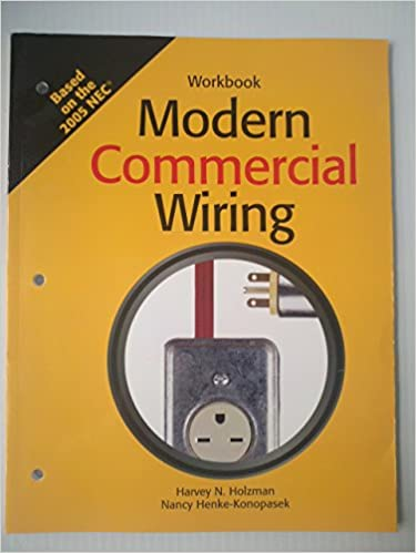 Awesome Modern Commercial Wiring Amazon Co Uk Harvey N Holzman Nancy Wiring Database Wedabyuccorg