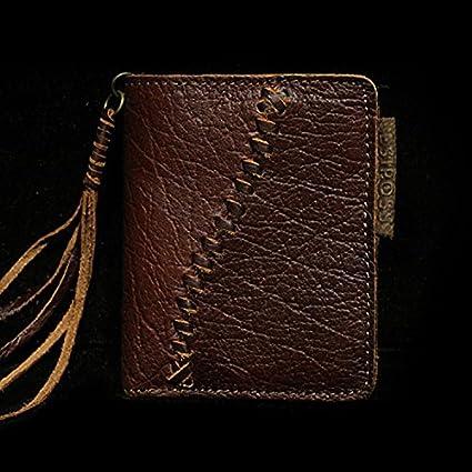 Los hombres billeteras, cuero original del hombre ...