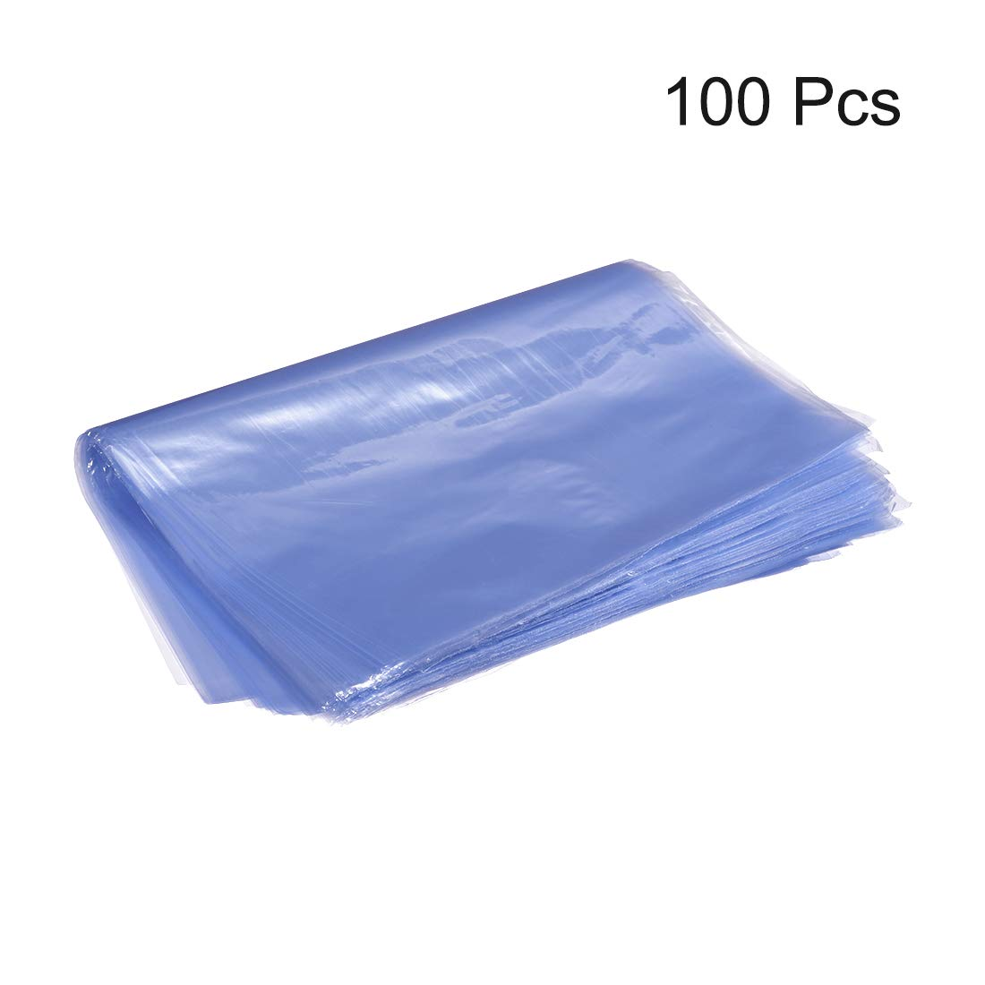 PVC Heat Shrink Wrap Bags 10x6 inch 100pcs Shrinkable Wrapping Packaging Bags Industrial Packaging Sealer Bags uxcell Shrink Bags
