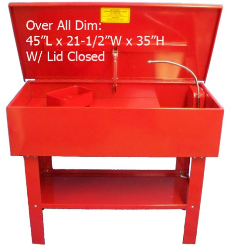 40 Gallon Parts Washer Cleaner w/ Pump Shelf & Basket by Generic (Image #8)