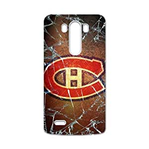 Icasepersonalized Personalized Protective,NHL Montreal Canadiens Custom Case for LG G3