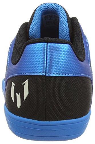 adidas Herren Messi 15.4 Street Fußballschuhe Multicolor (Solar Blue/Zero Met/Core Black)