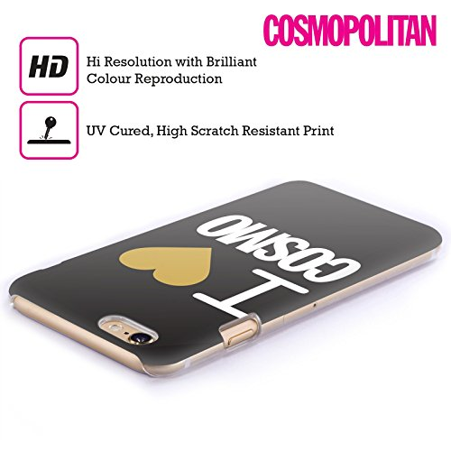Official Cosmopolitan I Heart Love Cosmo Hard Back Case for Apple iPhone 4 / 4S