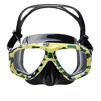 VILISUN Gafas de Buceo,Máscara de buceo impermeable de vista amplia,Máscara de Gafas
