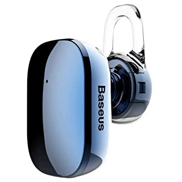 YENJOS 4.1 Auriculares inalámbricos Bluetooth para Auriculares Auriculares con micrófono para teléfono móvil Auriculares y Cargadores suplementarios (Azul): ...