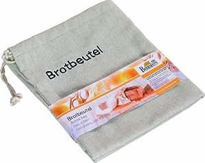 Birkmann 700505 - Bolsa del pan (algodón transpirable y cordel, 38 x 45 cm)