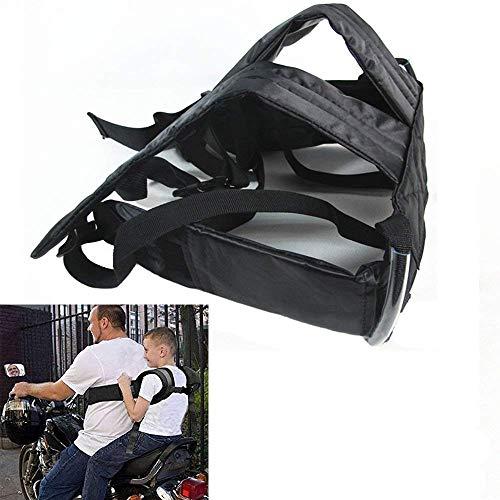 Huntiger Adjustable Children Kid Child Motorcycle Safety Belt Strap Seats Electric Vehicle Harness: