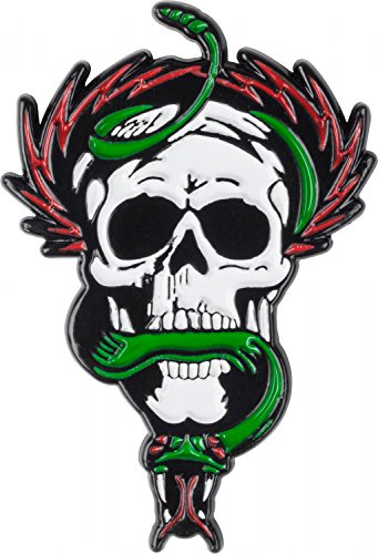 Powell Peralta None Mcgill Skull And Snake Badge (Default, Green) -  POW-ACC-0023