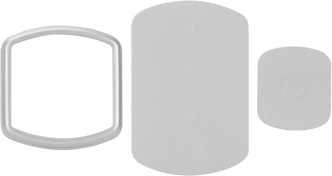 SCOSCHE MPKSGI MagicMount Magnetic Mount Trim Rings and Replacement Kit for Mobile Devices, Space Gray