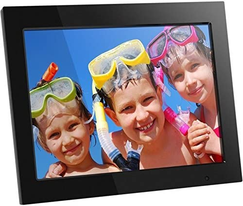 Aluratek – 8 WiFi Digital Photo Frame with Touchscreen IPS LCD Display 8GB with Polaroid 16 GB Class 10 SD Card – SDHC UHS-I, U1 Memory Flash Card