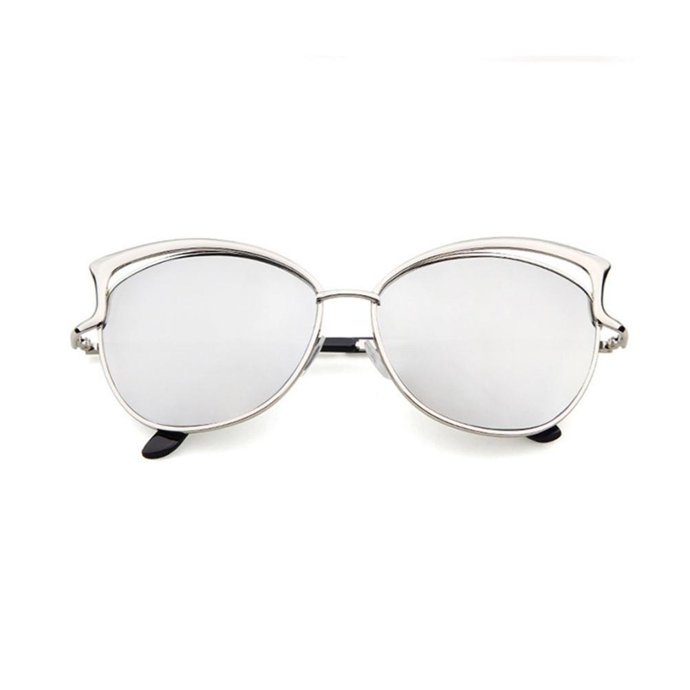 008cbf23764 Amazon.com  Dressffe 2018 Fashion Men Women Clear Lens Glasses Metal  Spectacle Frame Myopia Eyeglasses Sunglasses (Blue)  Garden   Outdoor
