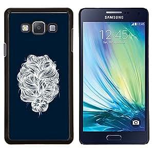 Caucho caso de Shell duro de la cubierta de accesorios de protección BY RAYDREAMMM - Samsung Galaxy A7 A7000 - cabello con
