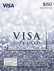 As one of the world's most recognizable and trusted brands, the Visa Gift Card is the perfect gift to give a friend or a loved one. This card can be used in the U.S. only, online or in stores, everywhere Visa debit cards are accepted. So gift...