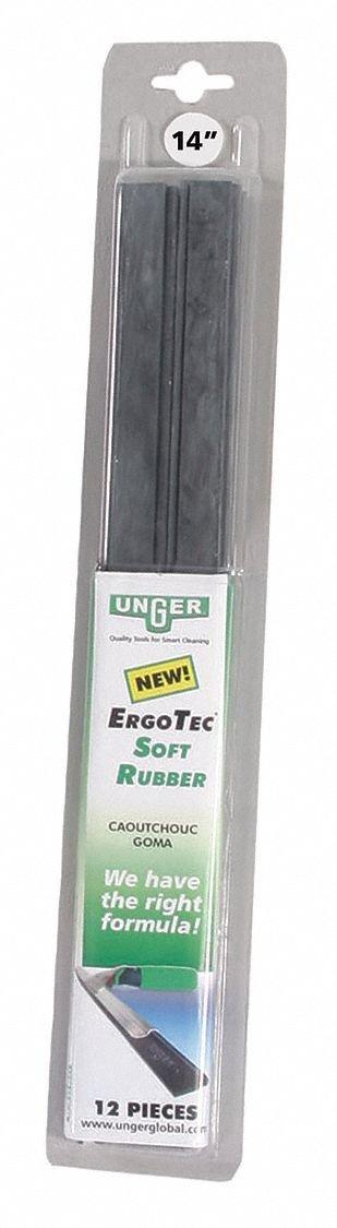 Unger ErgoTec Soft Rubber Blades