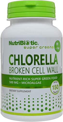 Nutribiotic Chlorella Tabs, 500 Mg, 150 Count