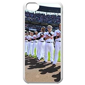 MLB Iphone 5C White Baltimore Orioles cell phone cases&Gift Holiday&Christmas Gifts NBGH6C9126087