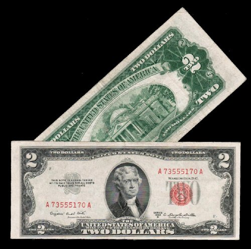 $5 Blue Seal Silver Certificate Series 1953 Old U.S. Currency - Buy ...
