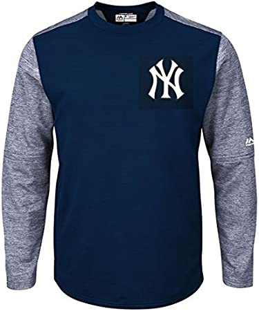 Majestic New York Yankees auténtico Tech Fleece camisa cuello ...