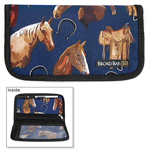 Horses & Saddles Checkbooks Horse Cover Cotton with Waterproof ()