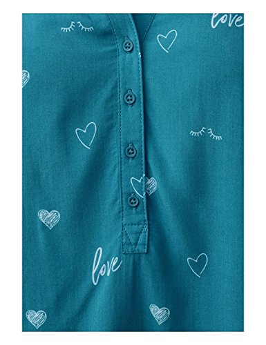 Tonic Aqua Cecil Blue 21156 Femme Turquoise Blouse nFnqwAPI