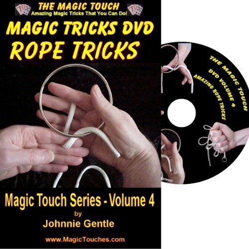 Magic Rope Tricks DVD - an Amazing Magic Collection of Classic Rope Tricks and Stunning Magic Tricks with Rings & Strings, All Fully Demonstrated and Explained in Easy to Follow, Step-by-Step Video